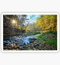 Brush Creek Sunrise Sticker