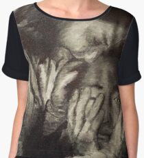 The Walking Dead: Maggie & Glenn Women's Chiffon Top