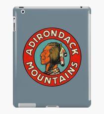 Adirondack Mountains Vintage Travel Decal iPad Case/Skin
