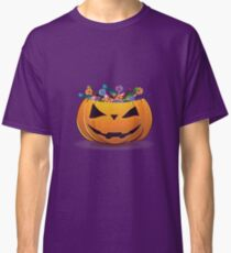Pumpkin with candy Classic T-Shirt