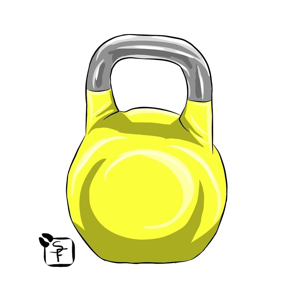 Kettle Bell by SonneFaunArt