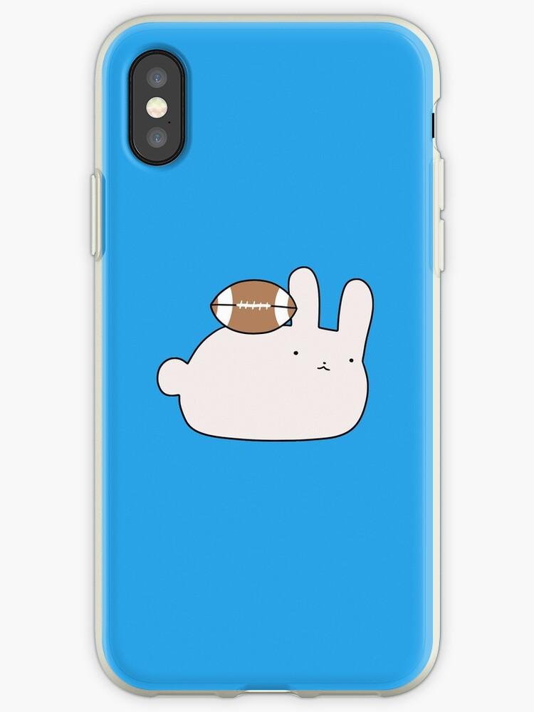 Little Football Bunny by SaradaBoru