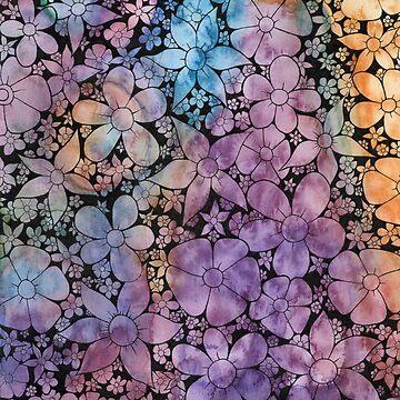 Rainbow Flora by PandemoniumPrya