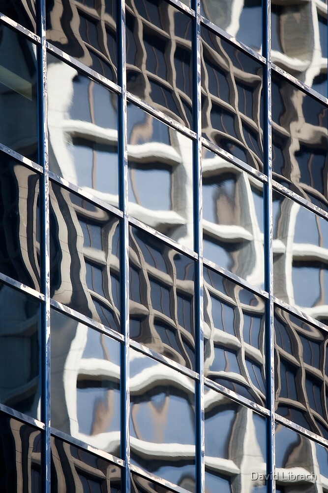 The one with the building reflecting off the windows of another building by David Librach - DL Photography -