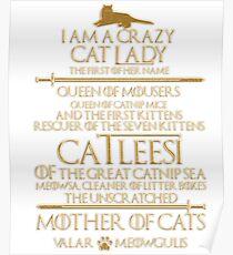 Mother Of Cats. Catleesi  Poster