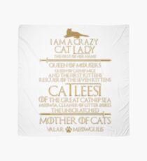 Mutter der Katzen. Catleesi Tuch