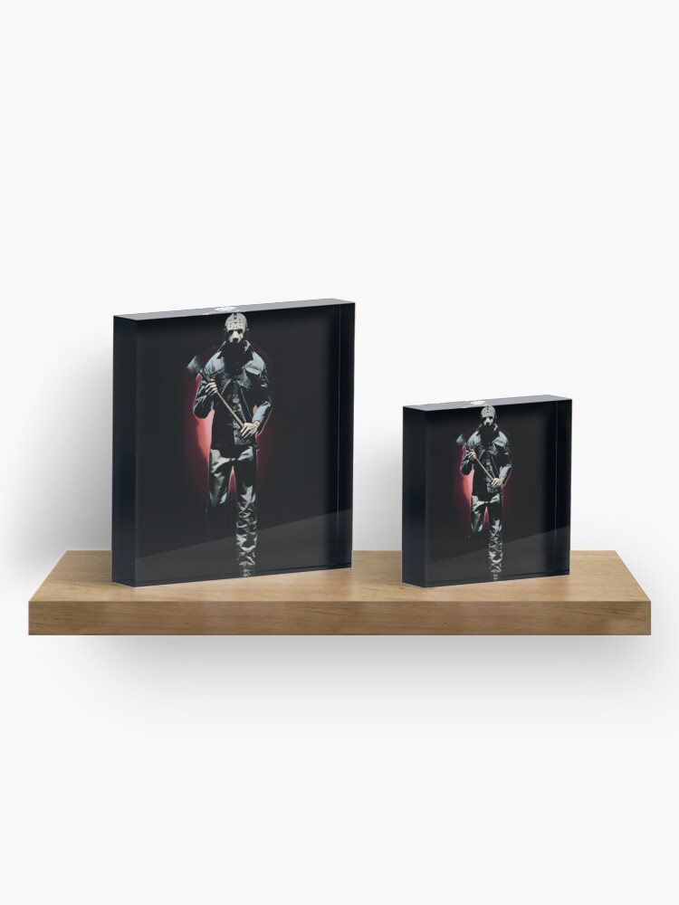Alternate view of Friday the 13th- Jason Voorhees Acrylic Block