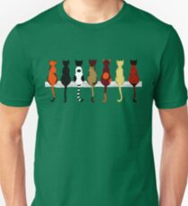 Fence sitters (Green) T-Shirt
