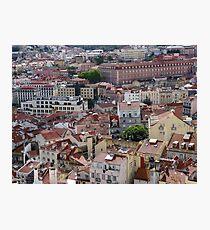 Lisbon Portugal City Centre Photographic Print