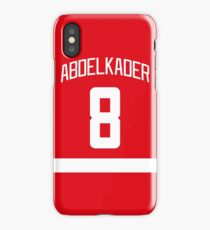 Justin Abdelkader iPhone Case/Skin