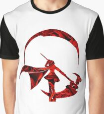 Ruby Rose Roses Silhouette Graphic T-Shirt