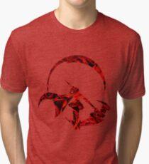 Ruby Rose Roses Silhouette Tri-blend T-Shirt