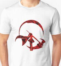 Ruby Rose Roses Silhouette Unisex T-Shirt