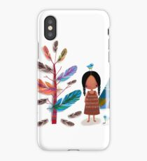 The Feather Tree iPhone Case