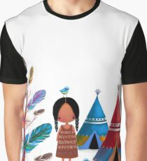 The Feather Tree Graphic T-Shirt