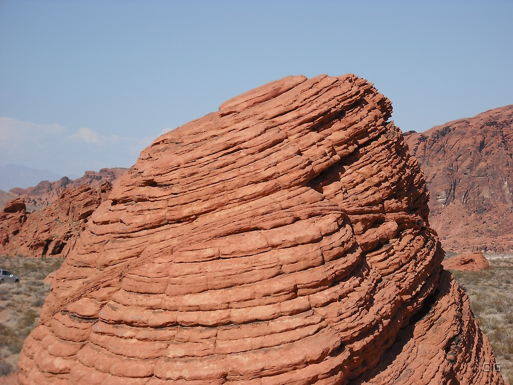 Bee Hive in The Valley of Fire by G G