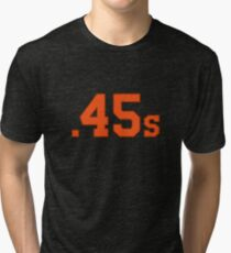 Houston Colt .45s Vintage Design Tri-blend T-Shirt