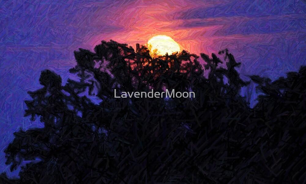 Moonlight and Indigo II by LavenderMoon