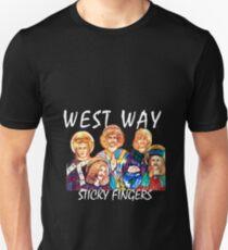Sticky Fingers - West Way (Large) Unisex T-Shirt