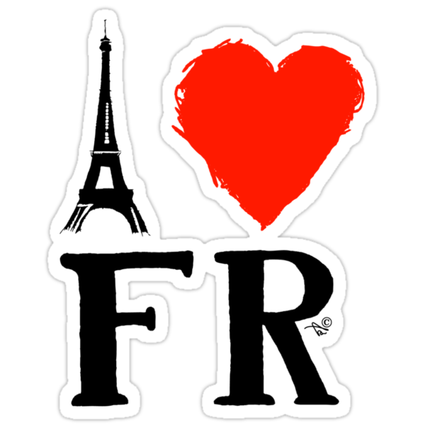 I Heart France (dk_remix)  by TAIs TEEs