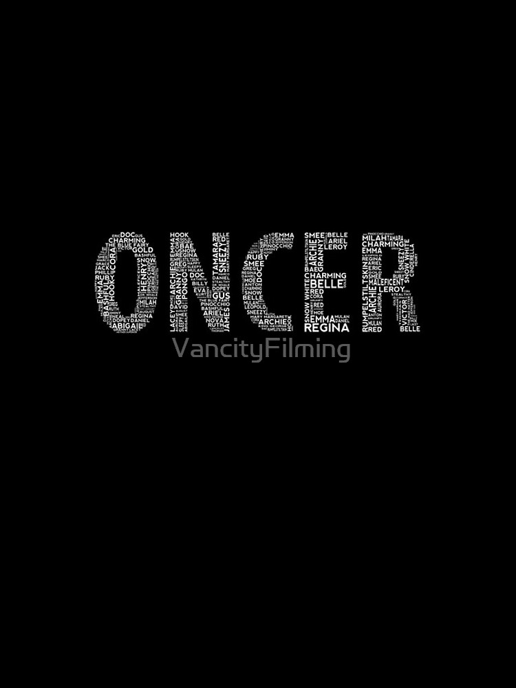 Once Upon a Time - Oncer - White by VancityFilming
