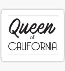 Queen of California Sticker
