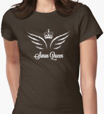 Once Upon a Time - Swan Queen Womens Fitted T-Shirt