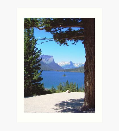 Perfectly Framed View Art Print
