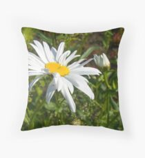 Big Chamomile 6 Throw Pillow
