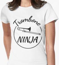 Trombone Ninja Women's Fitted T-Shirt