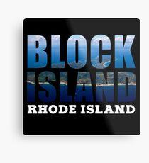 Block Island, Rhode Island Background Metal Print