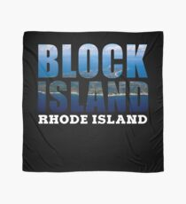 Block Island, Rhode Island Background Scarf