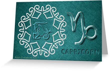 Astrology Capricorn  by Ann12art