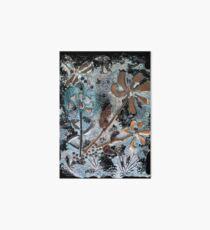 STEAMPUNK FLOWERS Art Board Print