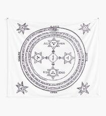 Magical Circle of King Solomon BIG Wall Tapestry