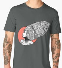 Tribal Head Piece Men's Premium T-Shirt