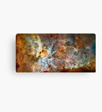 Hubble Space Telescope Print 0023 - The Carina Nebula - hs-2007-16-a-full_jpg Canvas Print