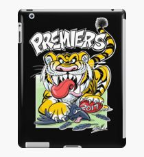 AFL Tigers 2017 - 'We smashed 'em' in black iPad Case/Skin
