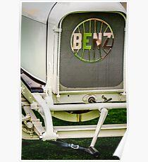 1908 Benz Prince Heinrich Two Seat Race Car Grille Emblem -1696c Poster