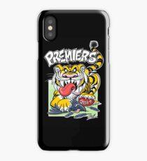 AFL Tigers 2017 - 'We smashed 'em' in black iPhone Case