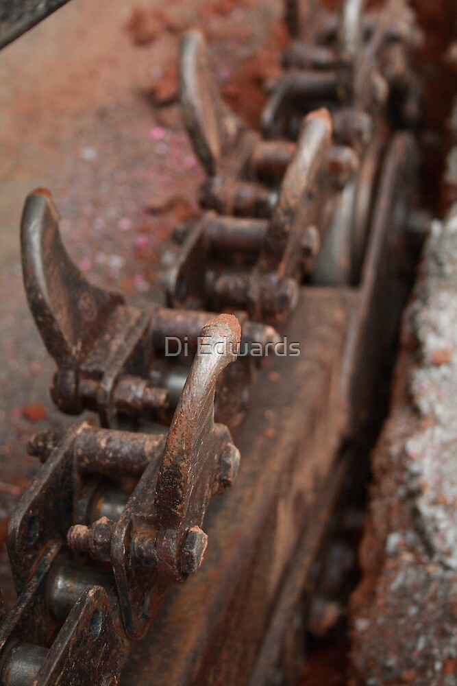Working on the Chain Gang by Di Edwards