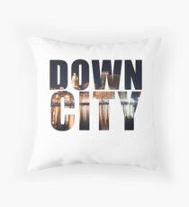 Downcity Providence, Rhode Island Throw Pillow