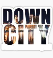 Downcity Providence, Rhode Island Sticker