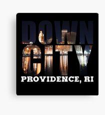 Downcity Providence, Rhode Island Canvas Print