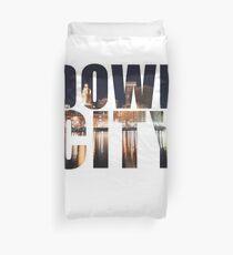 Downcity Providence, Rhode Island Duvet Cover