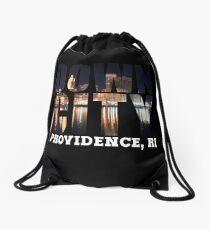 Downcity Providence, Rhode Island Drawstring Bag