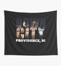 Downcity Providence, Rhode Island Wall Tapestry