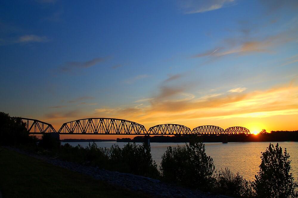 Ohio Railbridge by kentuckyblueman