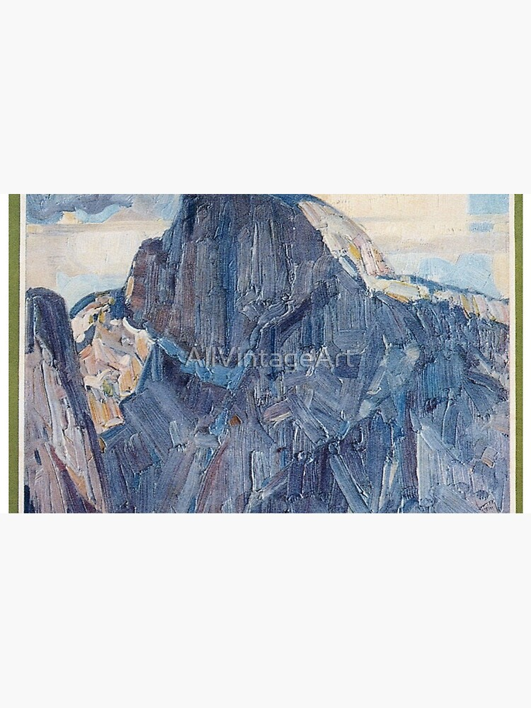 Weinlese-Yosemite-Reise-Plakat 1926 von AllVintageArt