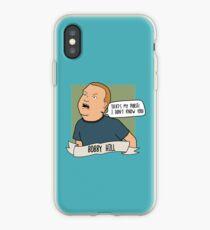 Vinilo o funda para iPhone Bobby Hill: ¡Esa es mi cartera! ¡No te conozco!